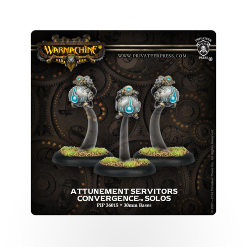 WARMACHINE Convergence of Cyriss Attunement Servitors