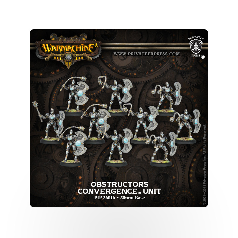 WARMACHINE Convergence of Cyriss Obstructors