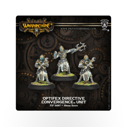 WARMACHINE Convergence of Cyriss Optifex Directive