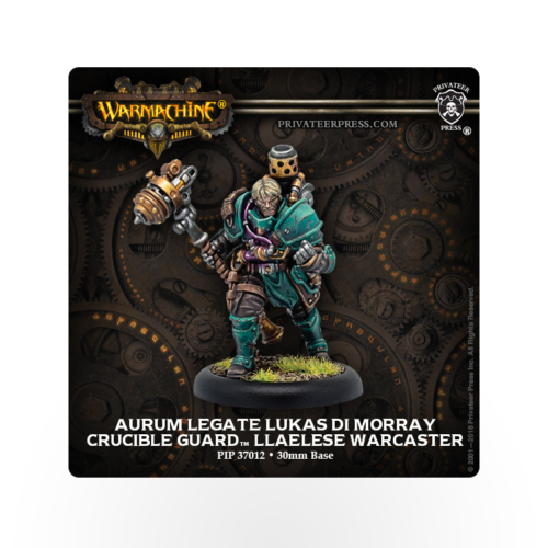 WARMACHINE Crucible Guard Aurum Legate Lukas di Morray