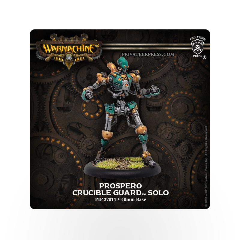 WARMACHINE Crucible Guard Prospero