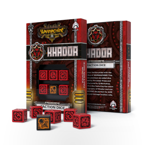 WARMACHINE Khador Faction Dice
