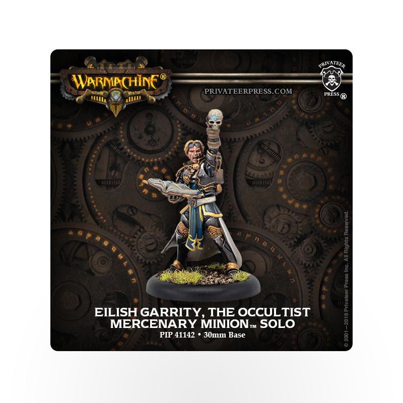WARMACHINE Mercenaries Eilish Garrity, the Occultist