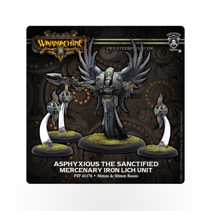 WARMACHINE Mercenary Asphyxious The Sanctified