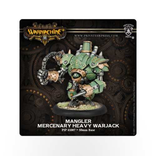 WARMACHINE Mercenaries Mangler