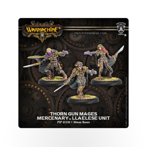 WARMACHINE Mercenary Thorn Gun Mages