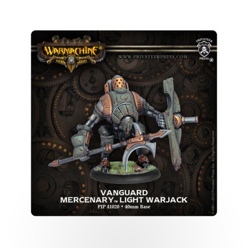 WARMACHINE Mercenaries Vanguard