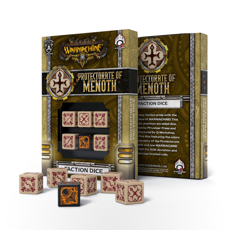 WARMACHINE Protectorate of Menoth Faction Dice