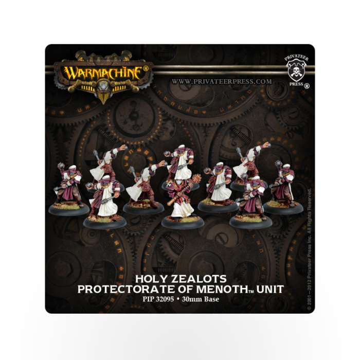 WARMACHINE Protectorate of Menoth Holy Zealots