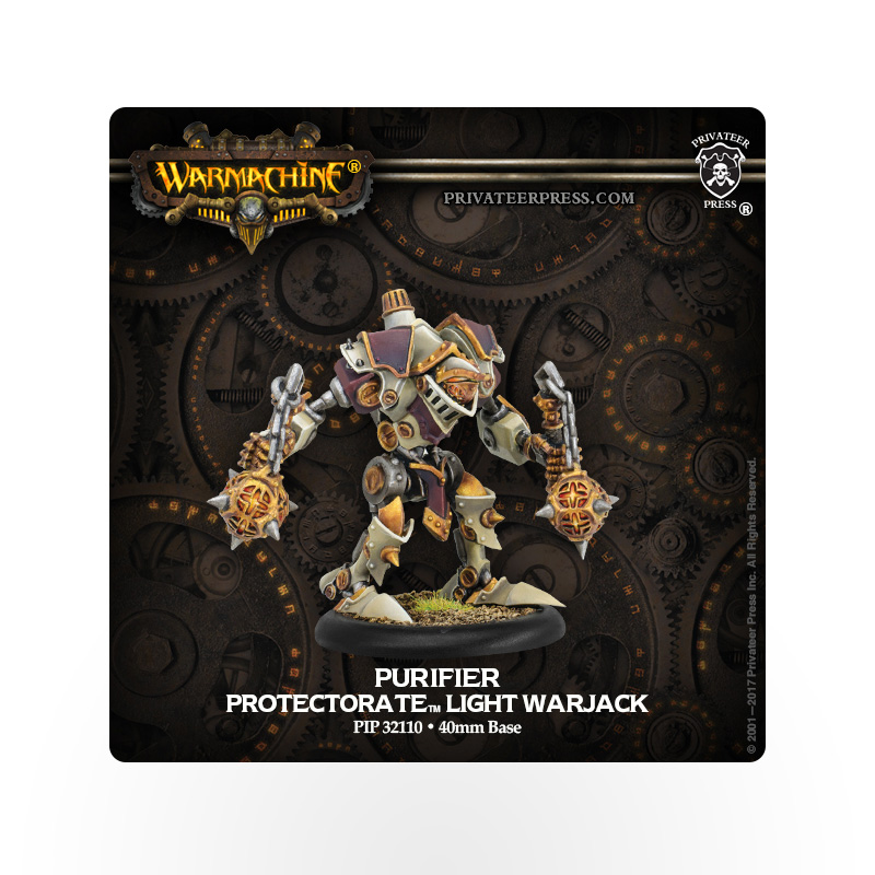 WARMACHINE Protectorate of Menoth Purifier