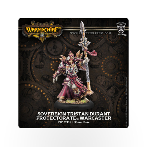 WARMACHINE Protectorate of Menoth Sovereign Tristan Durant
