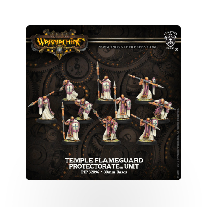 WARMACHINE Protectorate of Menoth Temple Flameguard