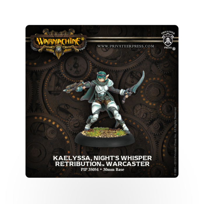WARMACHINE Retribution of Scyrah Kaelyssa, the Night's Whisper
