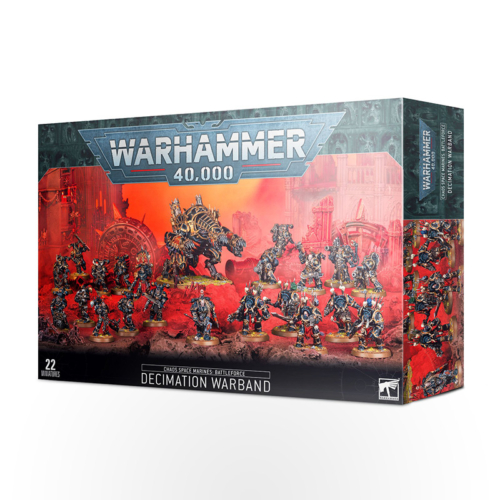 Warhammer 40000 – Chaos Space Marines Battleforce: Decimation Warband