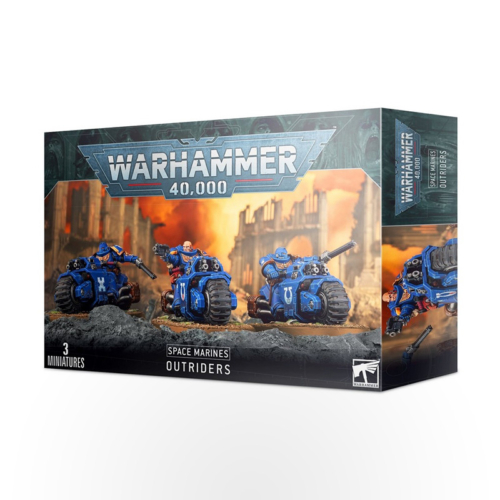 Warhammer 40000 - Space Marines: Outriders