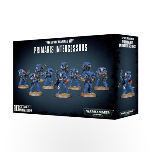 Warhammer 40000 – Space Marines Primaris Intercessors