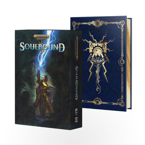 Warhammer Age of Sigmar: Soulbound RPG Collector's Rulebook (Limited Edition)