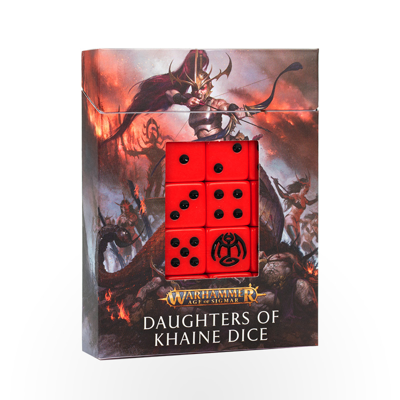 Warhammer Age of Sigmar - Daughters of Khaine Dice