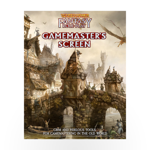Warhammer Fantasy Role Play - Gamemaster's Screen