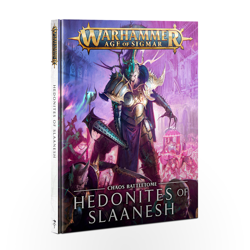 Warhammmer Age of Sigmar - Chaos Battletome Hedonites of Slaanesh