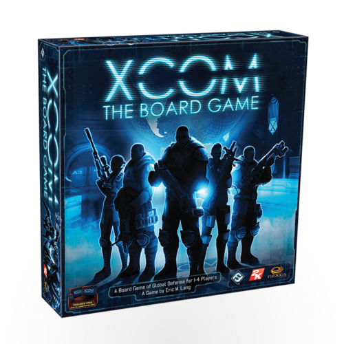 Stalo žaidimas XCOM: The Board Game