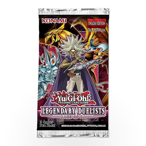 Yu-Gi-Oh! TCG: Legendary Duelists 7 - Rage of Ra Booster